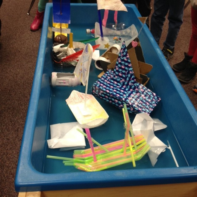 Our boats!